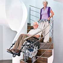 Schön & Endres, Orthopädie Rehatechnik - Treppenhilfen - Alber - Scalamobil