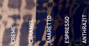 Bauerfeind, Venotrain Micro - Batik in Marine, Kompressionsstrümpfe